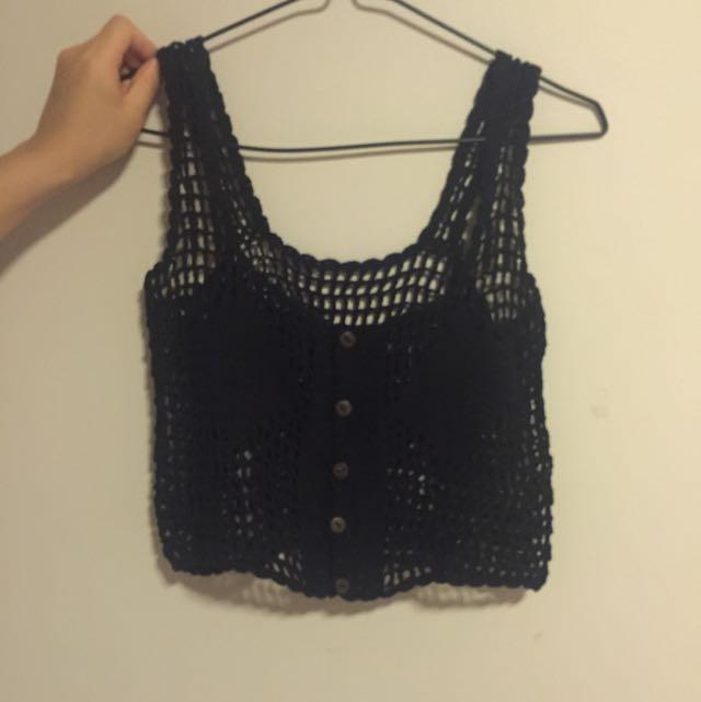 Crochette Knit Crop