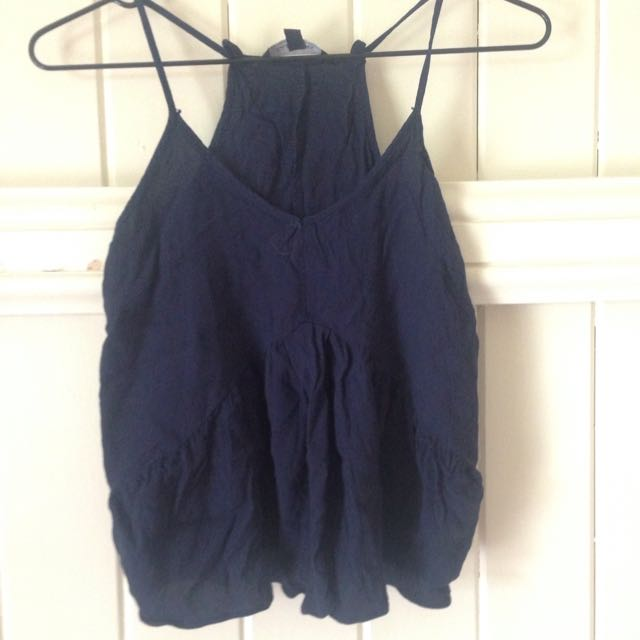 Glassons Navy Top Size 6