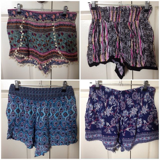 High Waisted Shorts, Size M