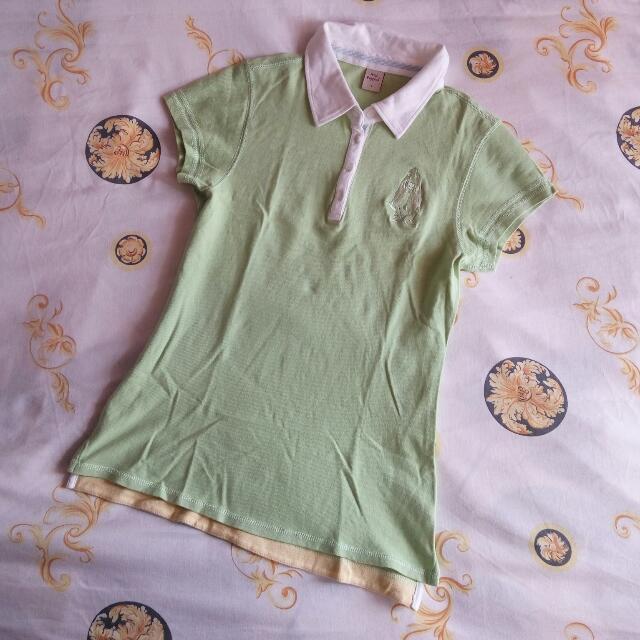 Hush Puppies Collared T-Shirt Top