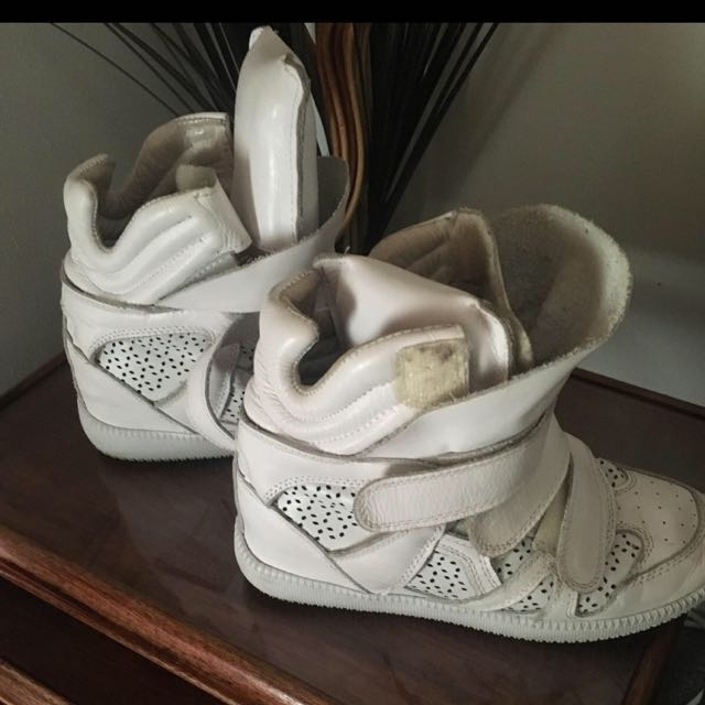 Isabel Marant Size 8 Wedge Sneakers