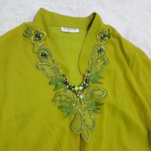 Kaftan Chiffon Dress Merk ZONE