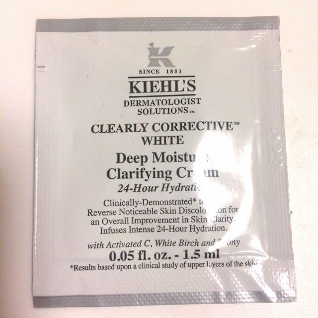 Kiehl's 契爾氏 激光極淨白保濕霜1.5ml pp包 僅剩一包!!
