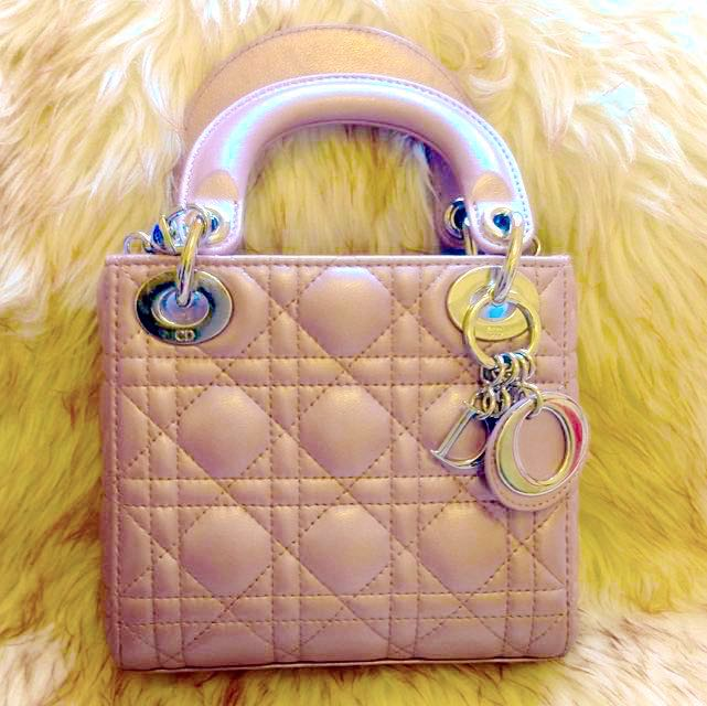 Lady Dior Mini Size 17