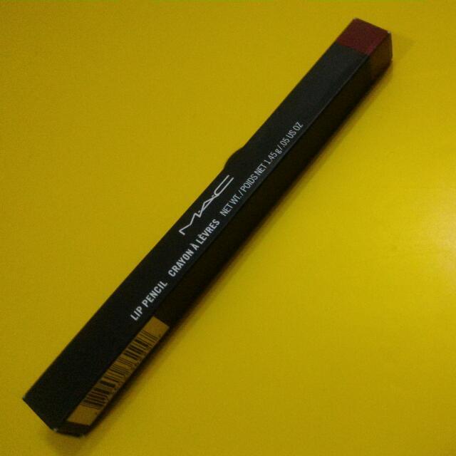 M A C lip pencil (nightingale)