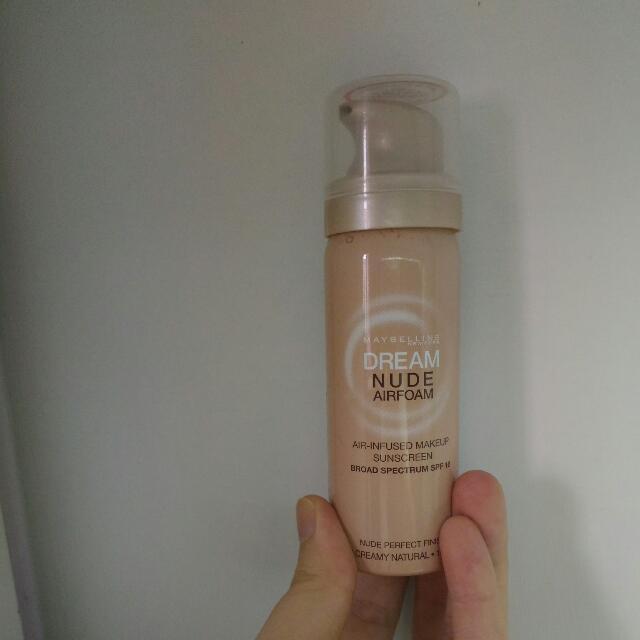 (贈品)Maybelline Dream Nude Airfoam