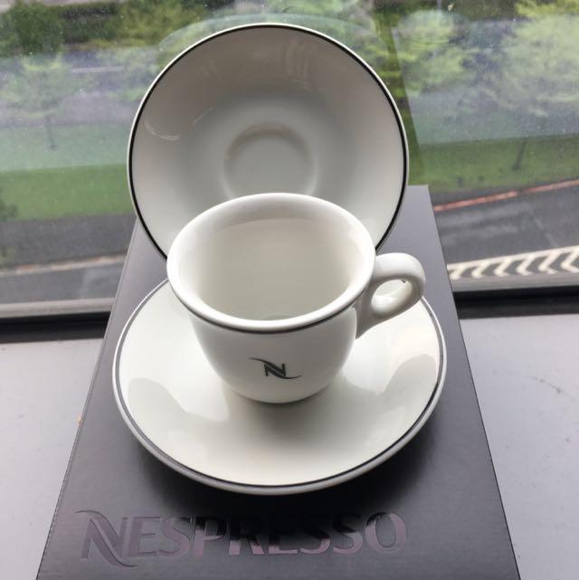 NESPRESSO 濃縮咖啡杯6組