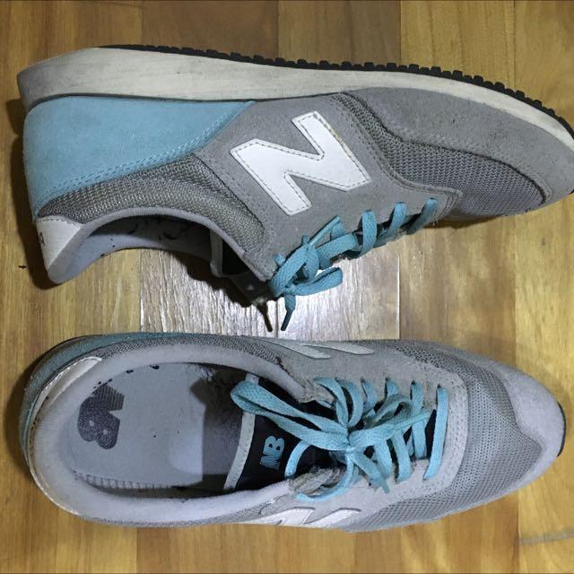 New Balance 綠灰慢跑鞋