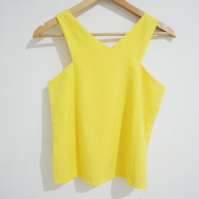 New! V Yellow Tank
