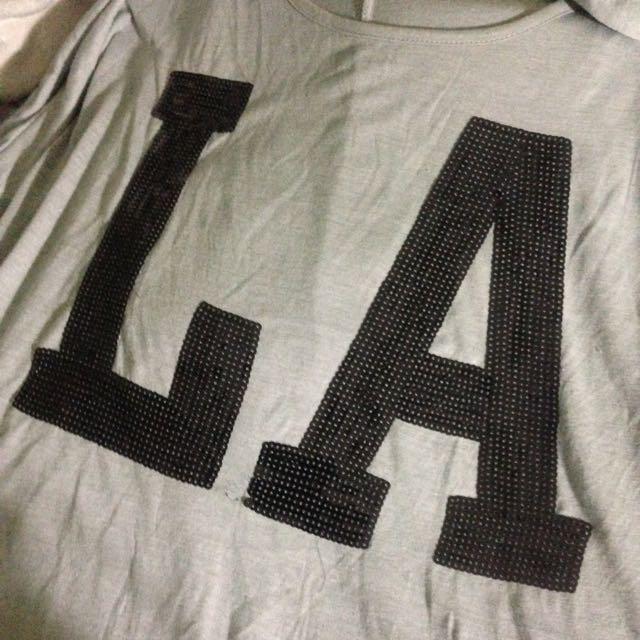Oversized LA Shirt