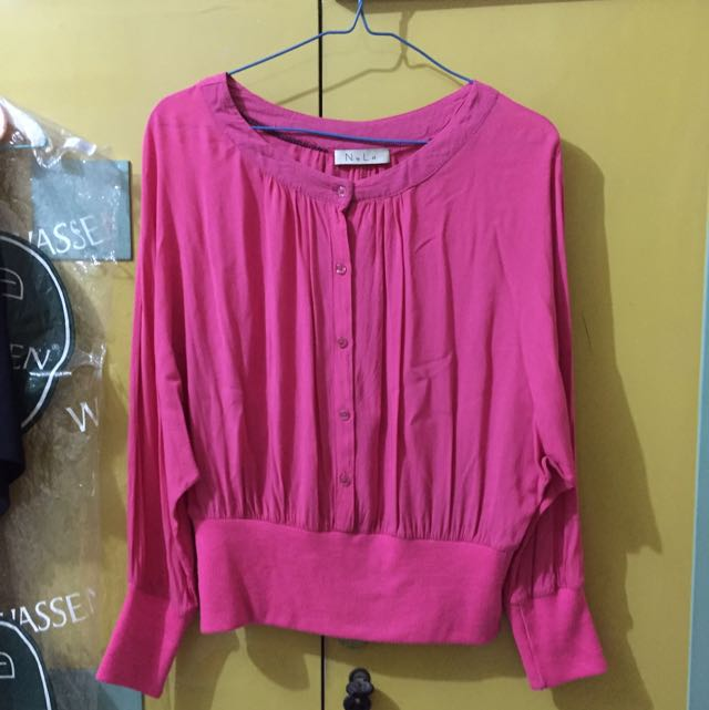 Preloved Pink Blouse