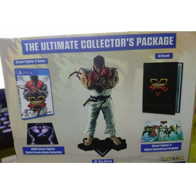 Street Fighter 5 (PS4 Version) Collector's Edition