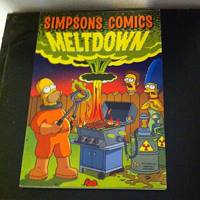 Simpsons Comics Meltdown
