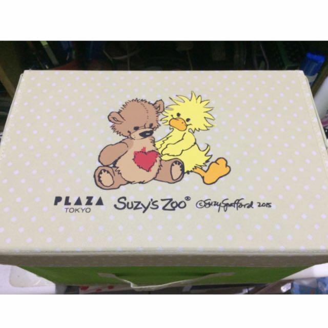 Suzy's Zoo 梨花熊 收納箱