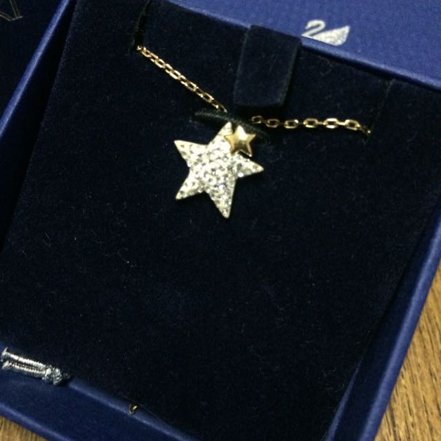 Swarovski星星項鍊