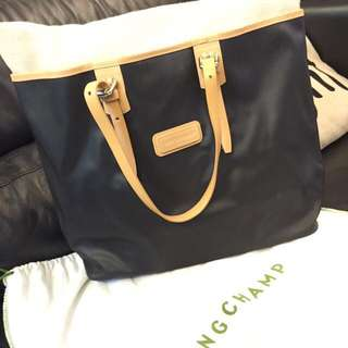 Authentic Long Champ Tote Bag