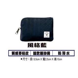 免運 現貨 限量 7-11 PORTER 零錢包 深藍色 另售 紫色款 (711 超商 輕旅行兩用撞色包包 SNOOPY)