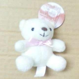 純白小小熊