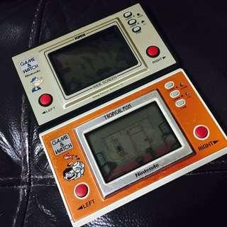 Vintage 1980s Nintendo Handheld Game