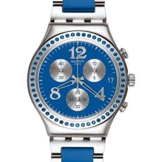 Swatch 限定色三眼碼表錶款