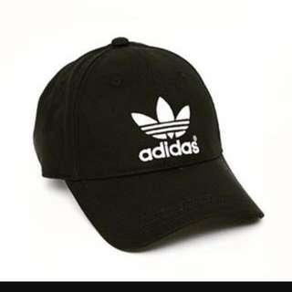 免運 Adidas 老帽 黑