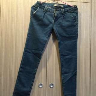 韓版 牛仔褲