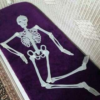 Glow In The Dark Halloween Skeleton