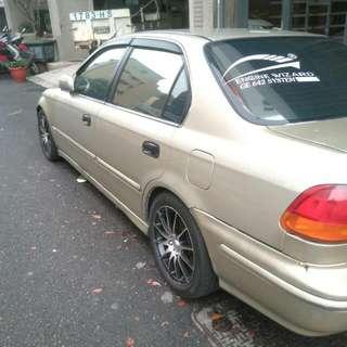 自售原廠1996年喜美k8四門汽車一輛