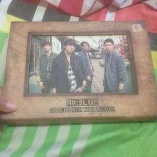 CNBLUE 4th Mini Album RE:BLUE
