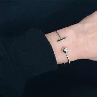 現貨)歐美簡約金屬手環