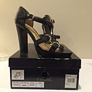 Corelli Black Heels