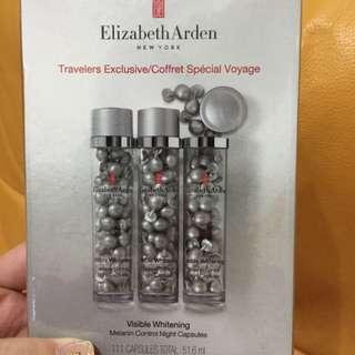 (單條賣場)免稅購入 Elizabeth Arden伊麗莎白雅頓 - 光纖鑽白淨白修護膠囊 37顆入