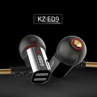 KZ ED9 Tunable Earphones