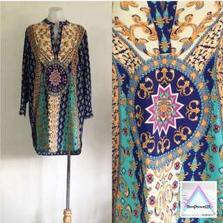 Moroccan Abstract Tunic