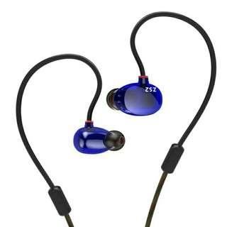 KZ ZS2 Dual Dynamic Driver Earphones