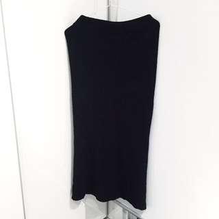 Knit Long Skirt