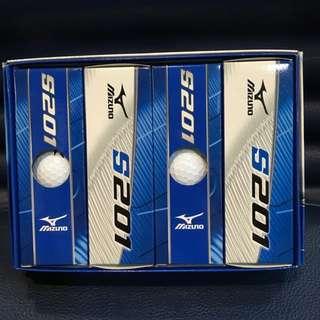 全新Mizuno美津濃 S201 高爾夫球一盒(12顆)