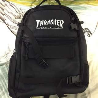 Thrasher滑板背包