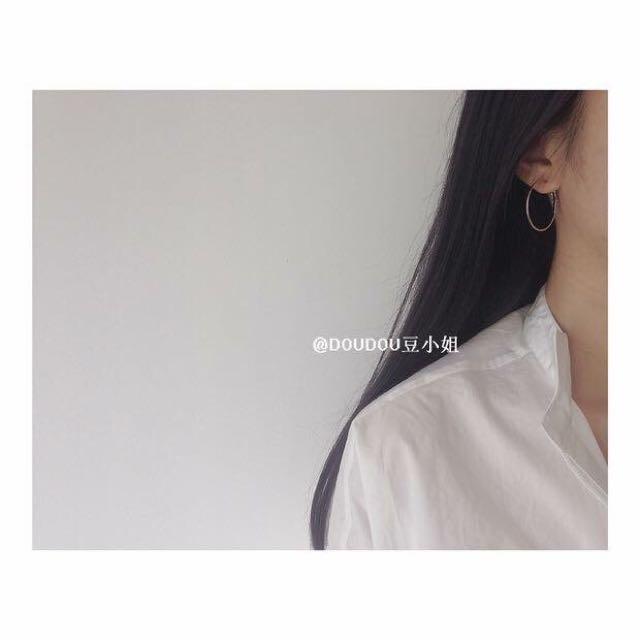 超美簡約耳環