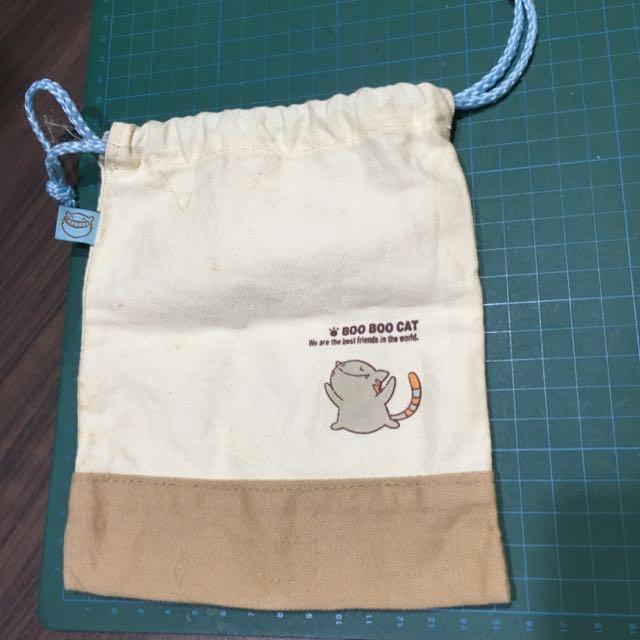 貓咪收納袋、束口袋