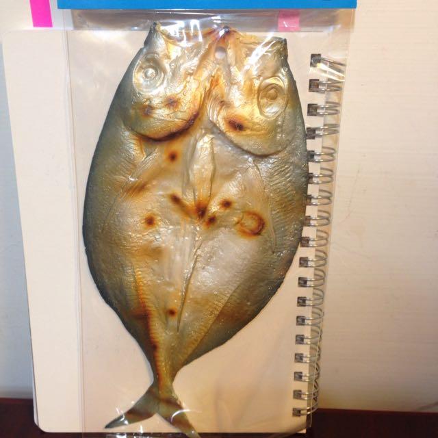 魚乾立體名信片(日本購入)