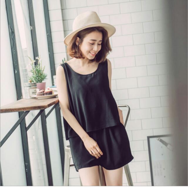 超美黑色小洋裝