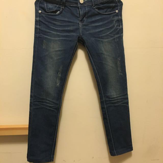 韓版緊身牛仔褲 超顯瘦