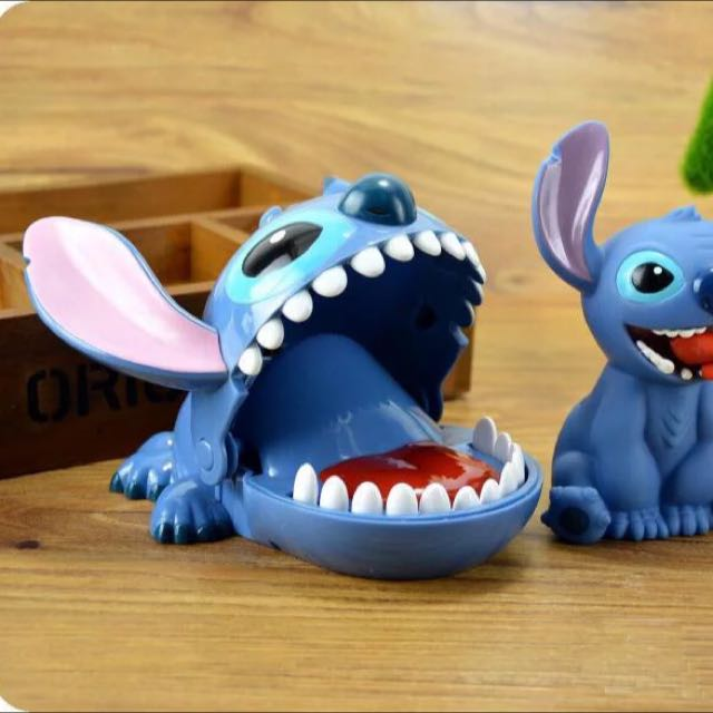迪士尼 史迪奇 整人玩具 派對玩具