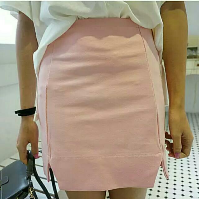 韓版高腰包臀裙 短裙 半身裙 全新