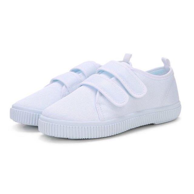 超熱賣🔥 魔鬼氈小白鞋 B款