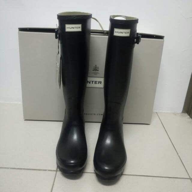 正品高質感Hunter norris field original boot uk 7=us9