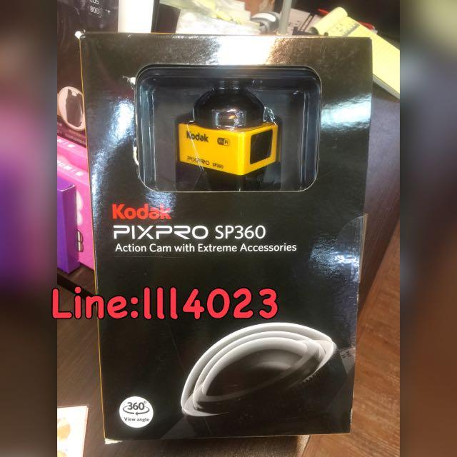 Kodak SP360環景攝影機(4K)(4K雙包裝)