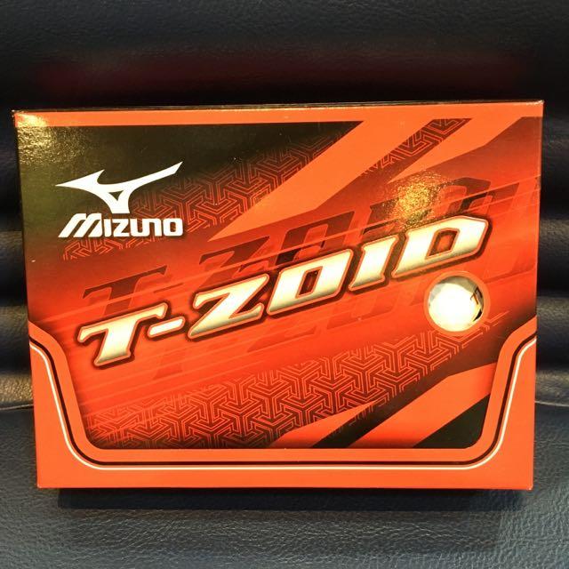 全新Mizuno美津濃 T-ZOID 高爾夫球一盒(12顆)