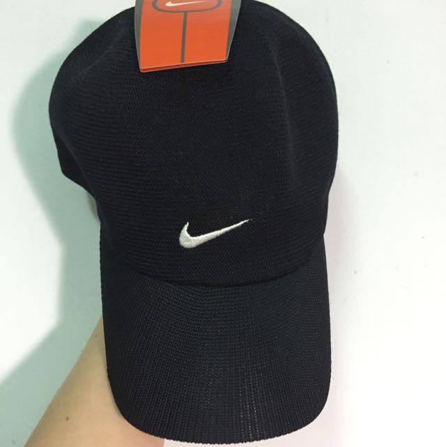 Nike帽子(正品)黑白基本款運動鴨舌帽
